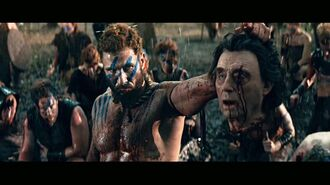 Sweeney Lugh with Odin's head 2x07