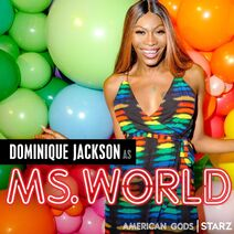 Dominique jackson ms. world promo