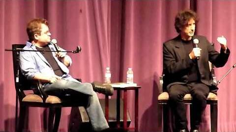 Neil Gaiman & Patton Oswalt @ Saban Theater in L.A. 6 28 11 pt1 of 6