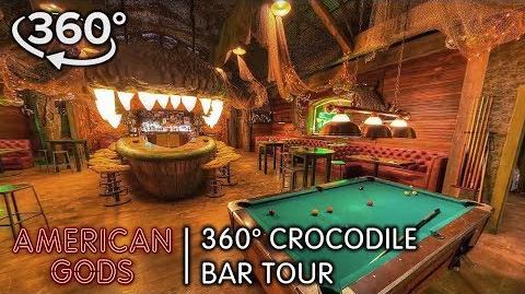 360 Crocodile Bar Tour American Gods