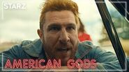 American Gods - Mad Sweeney, the Great & Golden King - STARZ