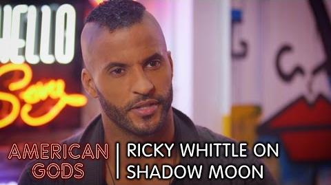 Ricky Whittle on Shadow Moon - American Gods