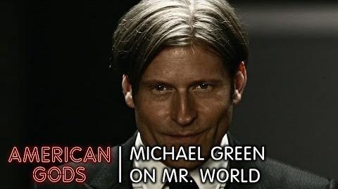 Michael Green on Mr. World American Gods