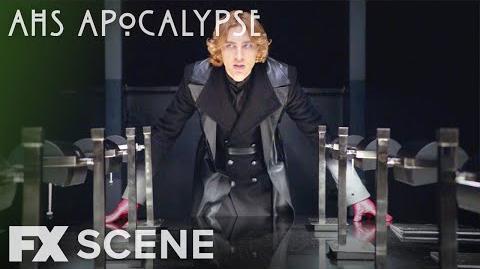 American Horror Story Apocalypse Season 8 Ep. 9 Michael's Meeting Scene FX