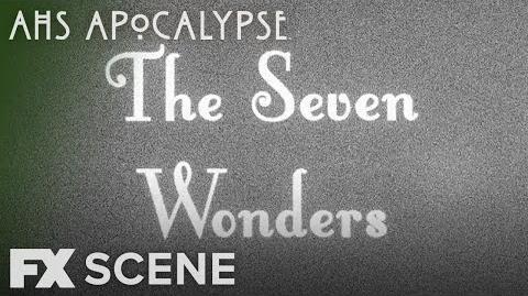 American Horror Story Apocalypse Season 8 Ep. 5 The Seven Wonders Scene FX