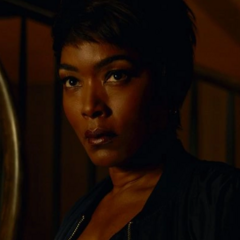 Angela Bassett as the re-enacted <a href=