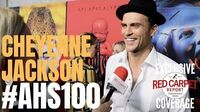 Cheyenne Jackson interviewed at FX Network's American Horror Story 100 Episodes Red Carpet AHSFX
