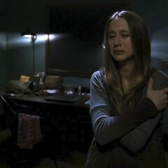 Violet breaks up with Tate...