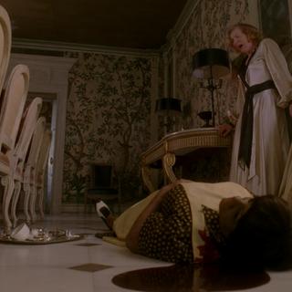 Глория нашла тело Доры.