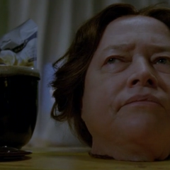 Bodyless Delphine Lalaurie talking with/to Queenie.