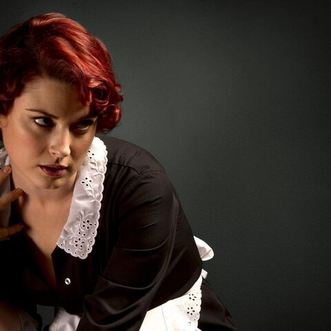 Alexandra Breckenridge as the young <a href=