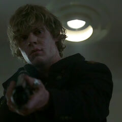 Tate during the school shooting.