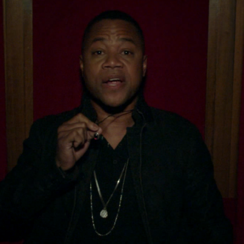 Cuba Gooding Jr. in the  role of <a href=