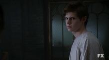 Evan Peters as Kit Walker on American Horror Story Asylum S02E01 9