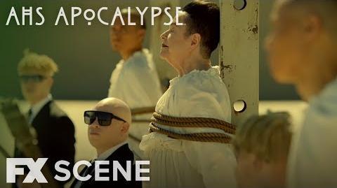 American Horror Story Apocalypse Season 8 Ep. 7 Burn Scene FX