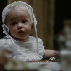 Thaddeus Montgomery as a baby.