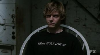 S01E01 Evan Peters as Tate Langdon American Horror Story 6