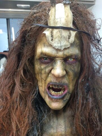 File:AHS S6 Scathach Real Actor BTS.jpg
