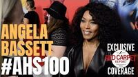 Angela Bassett interviewed at FX Network's American Horror Story 100 Episodes Red Carpet AHSFX