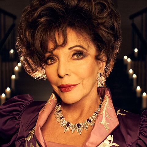 Dame Joan Collins as <a href=