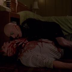 Тристан умирает на руках Лиз.