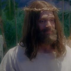 Evan als Jesus in <a href=