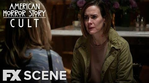 American Horror Story Cult Season 7 Ep. 6 I Don't Believe You Scene FX