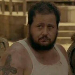 Chaz Bono in the role of the re-enacted <a href=