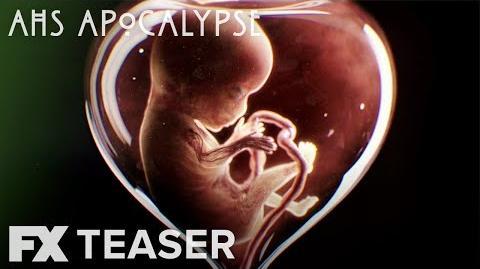 American Horror Story Apocalypse Season 8 Hourglass Teaser FX