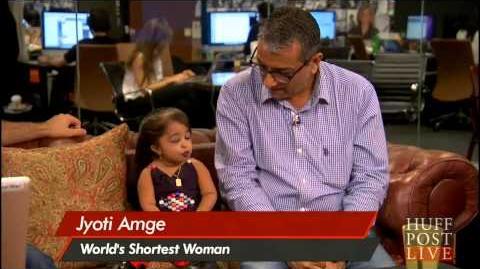 Shortest Woman Jyoti Amge interview American Horror Story Season 4 interview