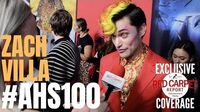 Zach Villa interviewed at FX Network's American Horror Story 100 Episodes Red Carpet AHSFX
