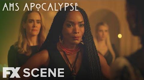 American Horror Story Apocalypse Season 8 Ep. 10 Voodoo Queen Scene FX