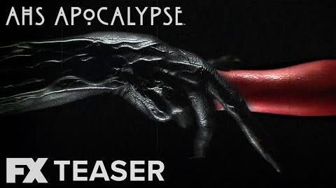 American Horror Story Apocalypse Season 8 Hand Out Teaser FX