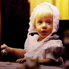 Thaddeus Montgomery as a baby.