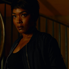 Angela Bassett in the role of the re-enacted <a href=