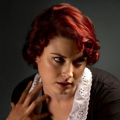 Alexandra Breckenridge as the young <a href=