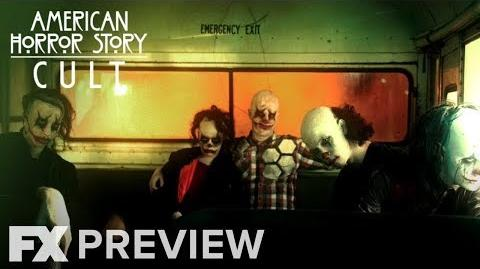 American Horror Story Cult Season 7 Maniacal Mystery Bus pt.2 Preview FX