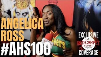 Angelica Ross interviewed at FX Network's American Horror Story 100 Episodes Red Carpet AHSFX