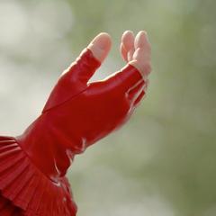 Myrtle Snow's fabulous gloves