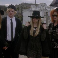 Attendance at Nan's funeral