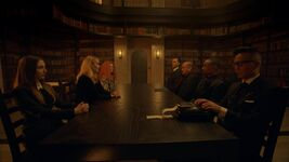 8x04 Witches and Warlocks council meeting