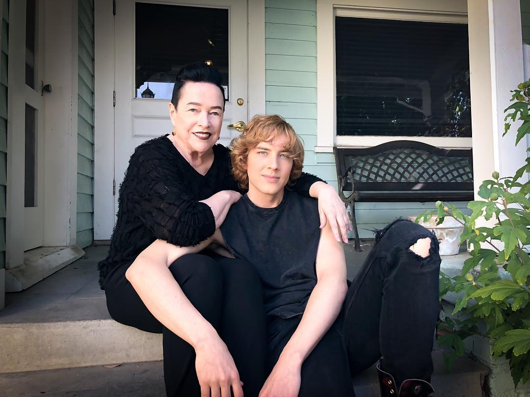 Image - S8 BTS Kathy Bates and Cody Fern.jpg   American ...