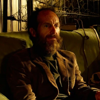 Denis O'Hare as the re-enacted <a href=