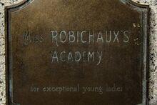 Miss R Academy plaque
