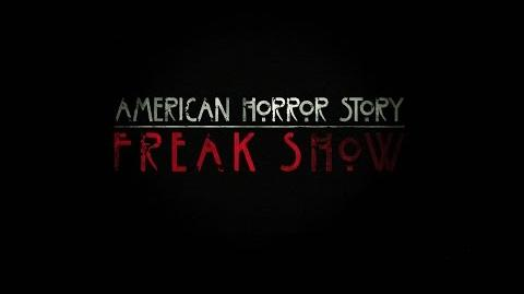 """American Horror Story Freak Show - Admit One """"Official Teaser""""-1"""