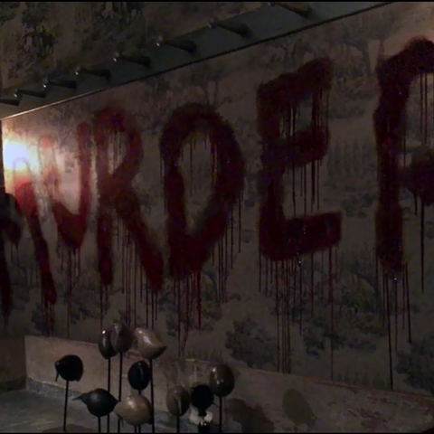 The word MURDER is finally complete after the death of Rory