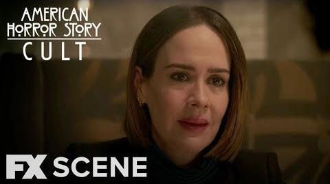 American Horror Story Cult Season 7 Ep. 11 Who Killed Ivy Scene FX
