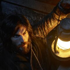 Wes Bentley in the role of the re-enacted <a href=