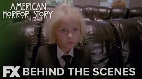 American Horror Story Hotel Inside White Haired Children FX
