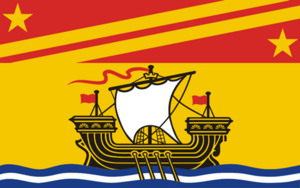 Flag of the Principality of New Brunswick
